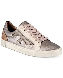 Frye Women's Ivy Logo Patch Low Sneakers