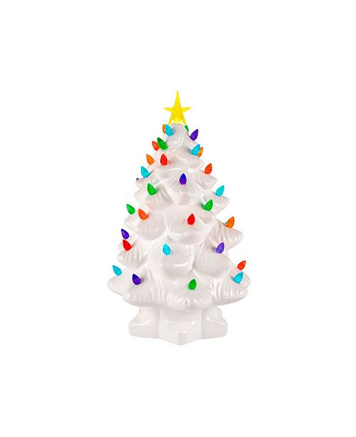 "Mr. Christmas 14"" White Nostalgic Tree"