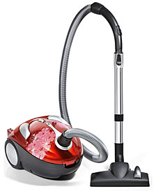 Dirt Devil Tattoo Crimson Bouquet Bagged Canister Vacuum