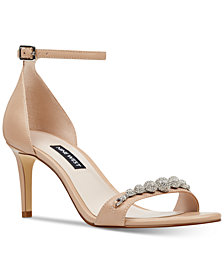 Nine West Allaboard Evening Sandals