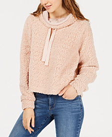 Hippie Rose Juniors' Sherpa Pullover