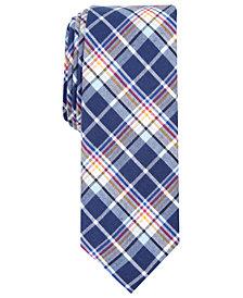 Original Penguin Men's Messer Skinny Plaid Tie