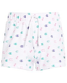 Toddler Girls Allover Print French Terry Shorts