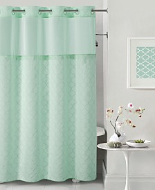 Hookless Mosaic 3-in-1 Shower Curtain