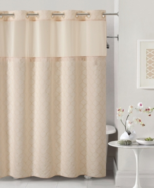 Hookless Mosaic 3-in-1 Shower Curtain Bedding
