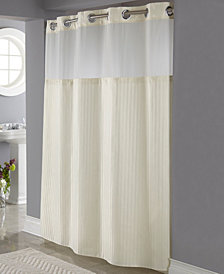 Hookless Classic Herringbone 3-in-1 Shower Curtain