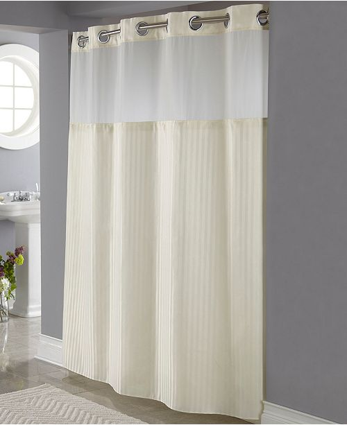 Classic Herringbone 3 In 1 Shower Curtain