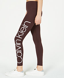 Calvin Klein Performance Jumbo-Logo Leggings