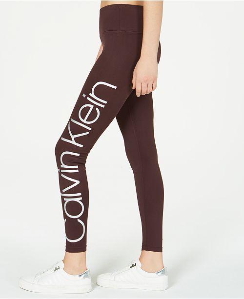 Calvin Klein Jumbo-Logo Leggings