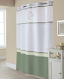 Hookless Windsor Colorblock 3-in-1 Shower Curtain