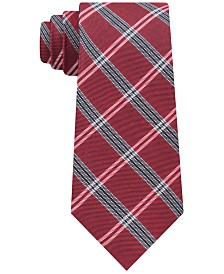 Tommy Hilfiger Men's Classic Tattersall Plaid Tie