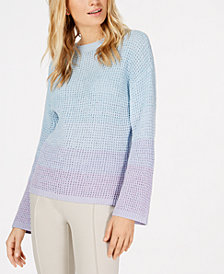 I.N.C. Dip-Dye Bell-Sleeve Sweater, Created for Macy's