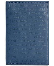 A X Armani Exchange Men's Folded Card Case