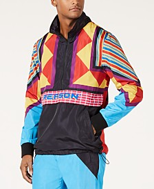 Reason Men's Neo Abstract Track Jacket
