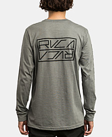 RVCA Men's Reflector Logo Graphic T-Shirt
