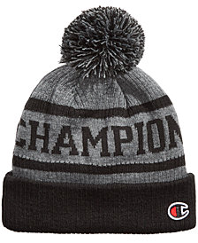 Champion Men's Cuffed Pom Pom Beanie