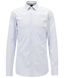 BOSS Men's Slim Fit Tailored Cotton Shirt
