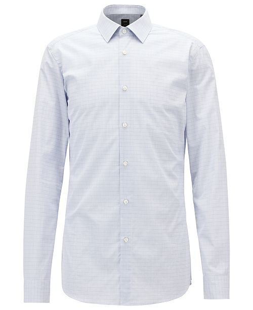 Hugo Boss BOSS Men's Slim Fit Tailored Cotton Shirt