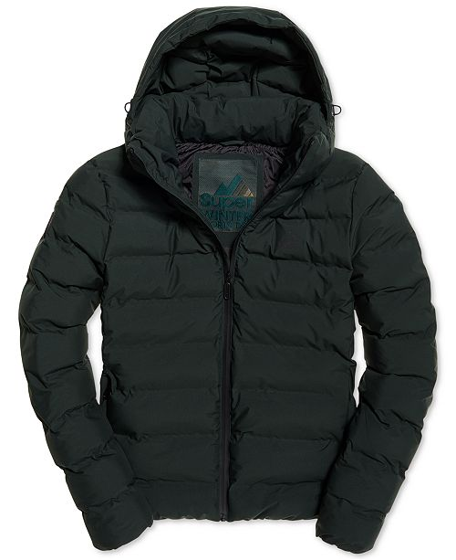 Superdry Men's Echo Quilted Puffer Coat