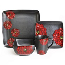 American Atelier Asiana Red 16PC Set