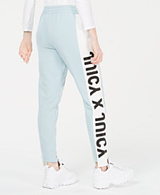 Juicy Couture Logo Side-Panel Terry Pants