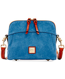 Dooney & Bourke Suede Cameron Crossbody