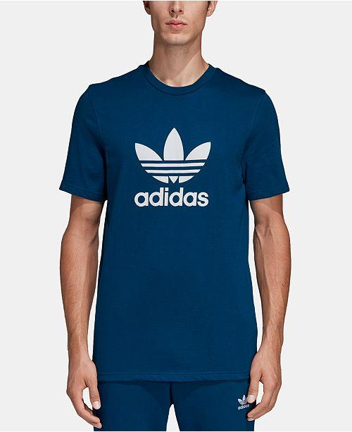 2c0768d8 adidas Men's Trefoil T-Shirt & Reviews - T-Shirts - Men - Macy's