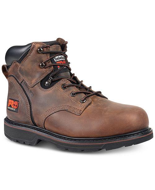 """Timberland Men's Pitt Boss 5"""" Safety-Toe Boots"""
