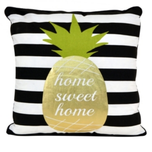 Good Vibes Pineapple Pillow, 18
