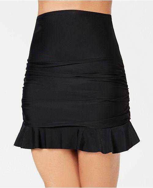Island Escape Ruffled Swim Skirt, Created for Macy's