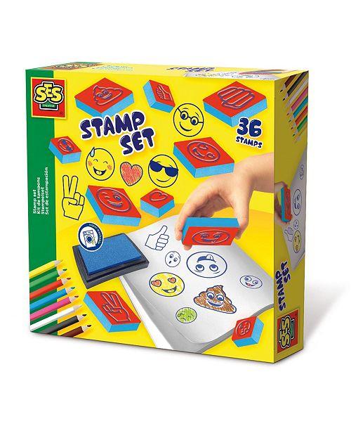 Eitech SES Creative Stamp Set Emoticons