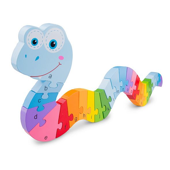 Eitech New Classic Toys Wooden Snake Puzzle