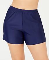 8cfdc2413f Plus Size Swim Shorts: Shop Plus Size Swim Shorts - Macy's