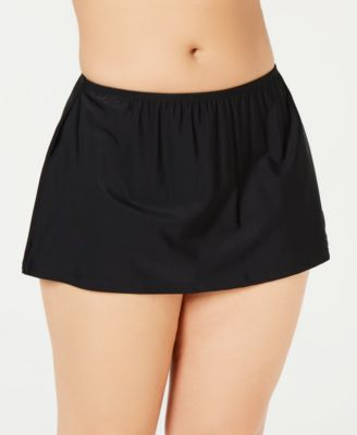 Plus Size Swim Skirt, Created for Macy's