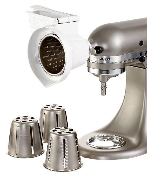 KitchenAid Rotor Slicer/Shredder Stand Mixer Attachment RVSA ...
