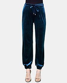 Brittany Xavier x INSPR Velvet Jogger Pants, Created for Macy's