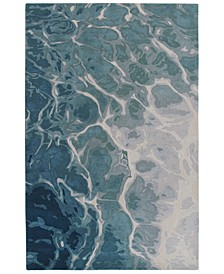 "Corsica 9146 Water 8'3"" x 11'6"" Area Rug"