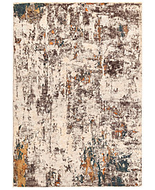 "Liora Manne' Jasmine 7013 Abstract Multi 1'11"" x 8' Runner Area Rug"