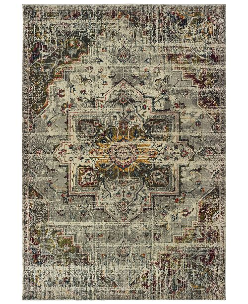 "Oriental Weavers Mantra 1901X Gray/Ivory 9'10"" x 12'10"" Area Rug"