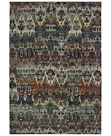 "Mantra 48V Gray/Multi 9'10"" x 12'10"" Area Rug"