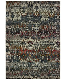 "Oriental Weavers Mantra 48V Gray/Multi 3'10"" x 5'5"" Area Rug"