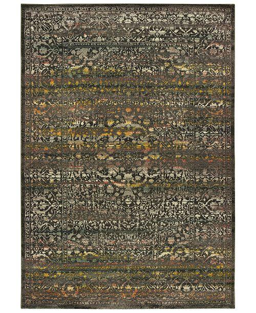 "Oriental Weavers Mantra 508 3'10"" x 5'5"" Area Rug"