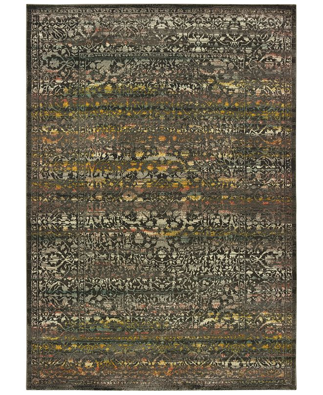 "Oriental Weavers Mantra 508 6'7"" x 9'6"" Area Rug"