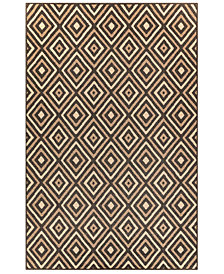 "Liora Manne' Riviera 7641 Nested Diamond 1'11"" x 7'6"" Indoor/Outdoor Runner Area Rug"