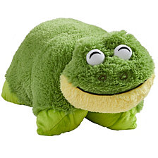 Pillow Pets Signature Friendly Frog Stuffed Animal Plush Toy