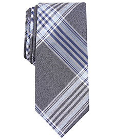 Nautica Men's Clark Slim Plaid Tie