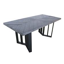 Francesca Outdoor Dining Table, Quick Ship
