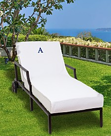 Linum Home Personalized Turkish Cotton Chaise Lounge Cover Collection