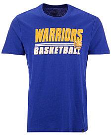 '47 Brand Men's Golden State Warriors Fade Back Super Rival T-Shirt