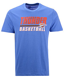 '47 Brand Men's Oklahoma City Thunder Fade Back Super Rival T-Shirt